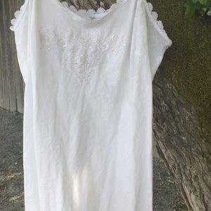 Newport News maxi dress. Plus size!